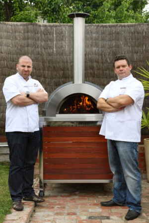 Celebrity Chefs George Calombaris and Gary Mehigan