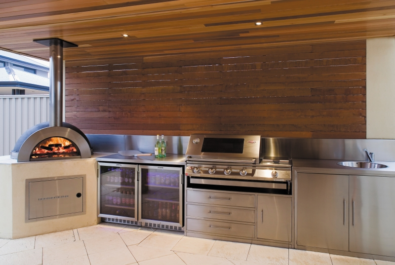 Zesti Wood fired Ovens Alfresco Kitchens Perth WA on